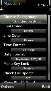 Xtgem this app provides an innovative way to unlock your s60v5 touch phone just set ur own unlock pattern by joining the dots and enjoy urtaz Gallery